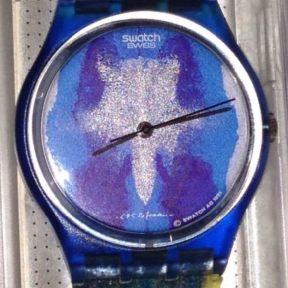 "Swatch Other - 1991 SWATCH WATCH Test GZ 118 (""Horizon"")"